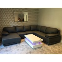 Davos VI-Modern Large U shape sofa Bed - Sofas (1386 ...