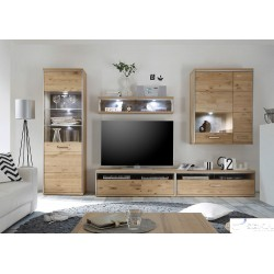 wood wall units for living room traditional furniture sets 163 sena home blanca ii assembled solid unit composition