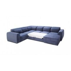 Ex Display Sofa Bed Uk Room And Board York With Chaise Palazzo Modulio U-shaped Modular Sleeping Option ...