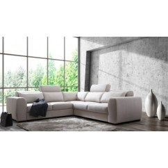 Corner Sofa Bed Recliner Brown Chenille Sectional Palazzo Modular With Electric Option Pallazo And