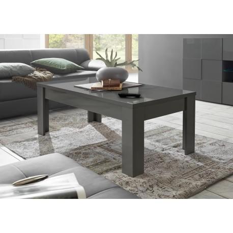 diana grey gloss coffee table