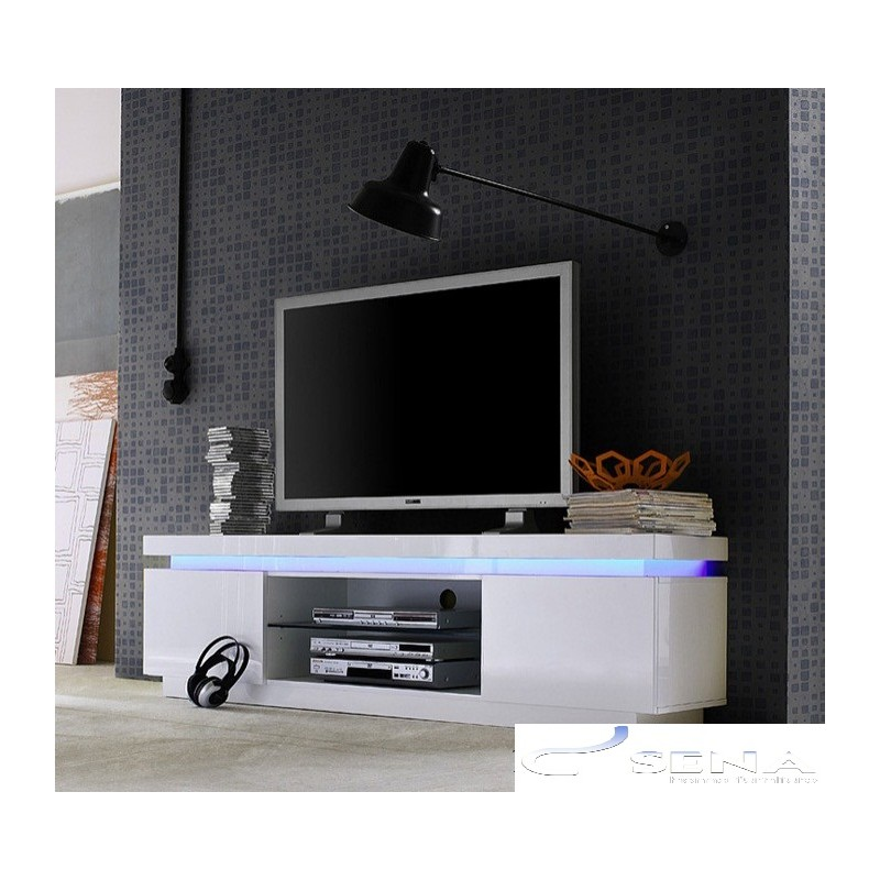 italian modern sofas uk leather reclining reviews avanti ii gloss tv stand with rgb lights - stands (533 ...