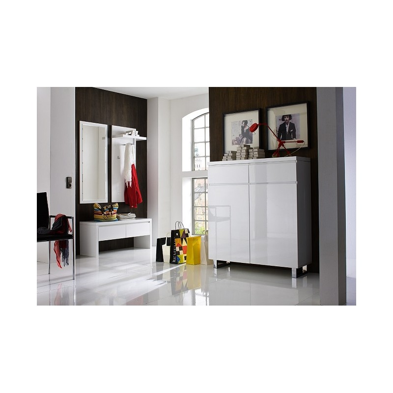 Sydney IV High Gloss Hallway Furniture Shoe Storage