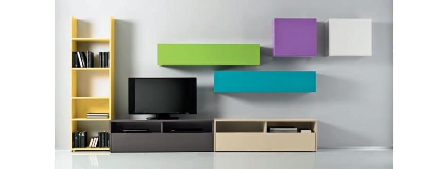 Box Modular Wall Units 66 Sena Home Furniture