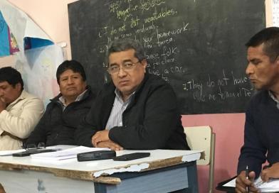 El Senador Nolasco participó de la reunión para la creación de una nueva oferta de educación superior en La Poma