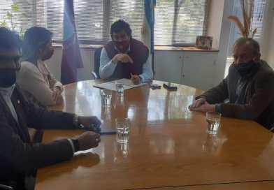La senadora Abilés realiza gestiones para generar capacitación y fuentes de trabajo en La Caldera