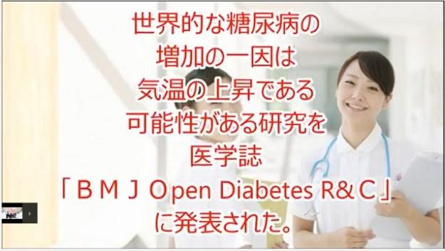 ビ医学誌糖尿病の増加の原因