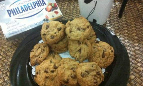 resepi-cream-cheese-chocolate-chips-cookies