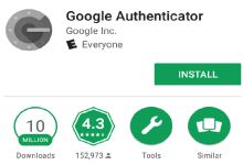 Android do Google Authenticator