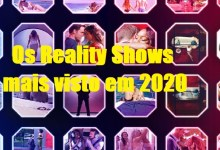 Photo of Os Reality Shows mais visto em 2020