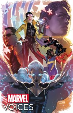 Vozes da Marvel: capa do Legacy # 1