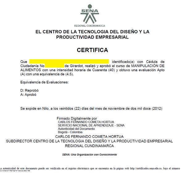 Descargar certificado en wwwsenasofiapluseduco  Sena