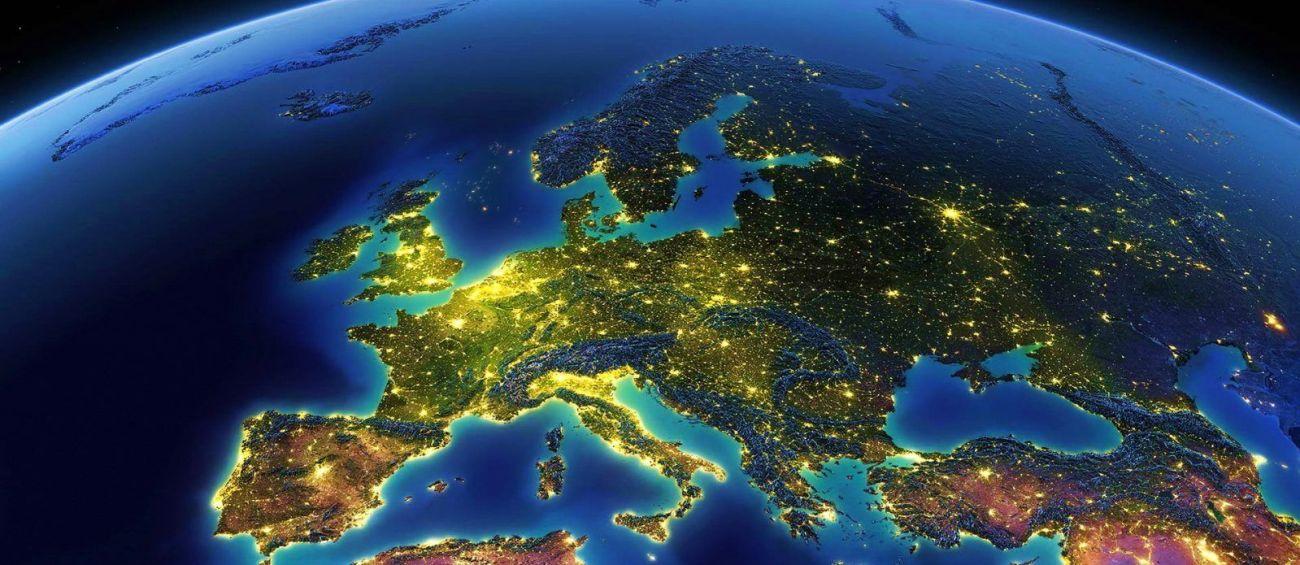 Ночная Европа