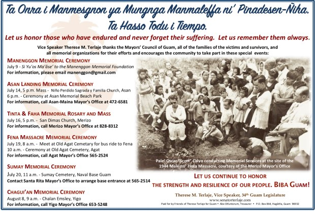 honor the strength of our people 2018 memorial ceremonies and