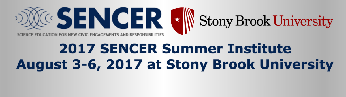 Register for the 2017 SENCER Summer Institute!