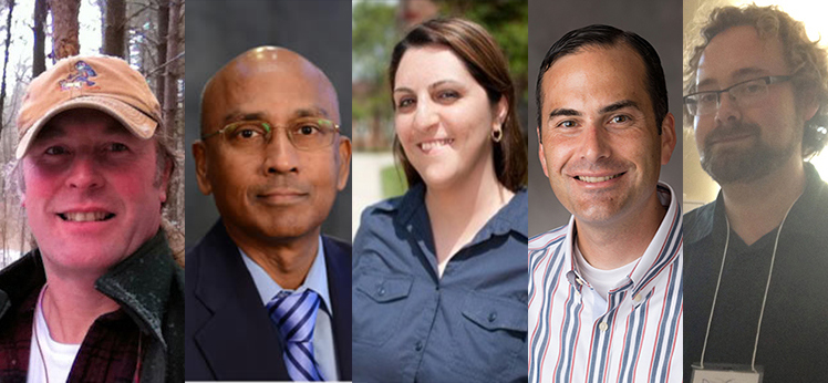 Five Educators Elected SENCER Leadership Fellows