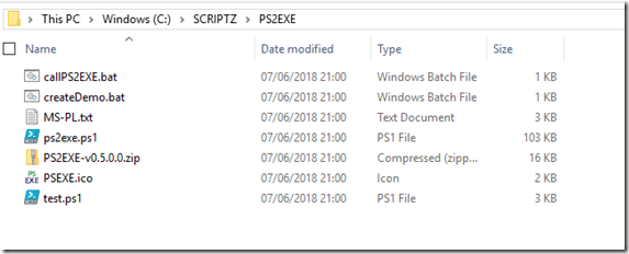 Convert your Powershell script to Executable (ps1 to exe)