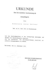 Zertifikat 218x300 - Besondere Leistungen Freiburg