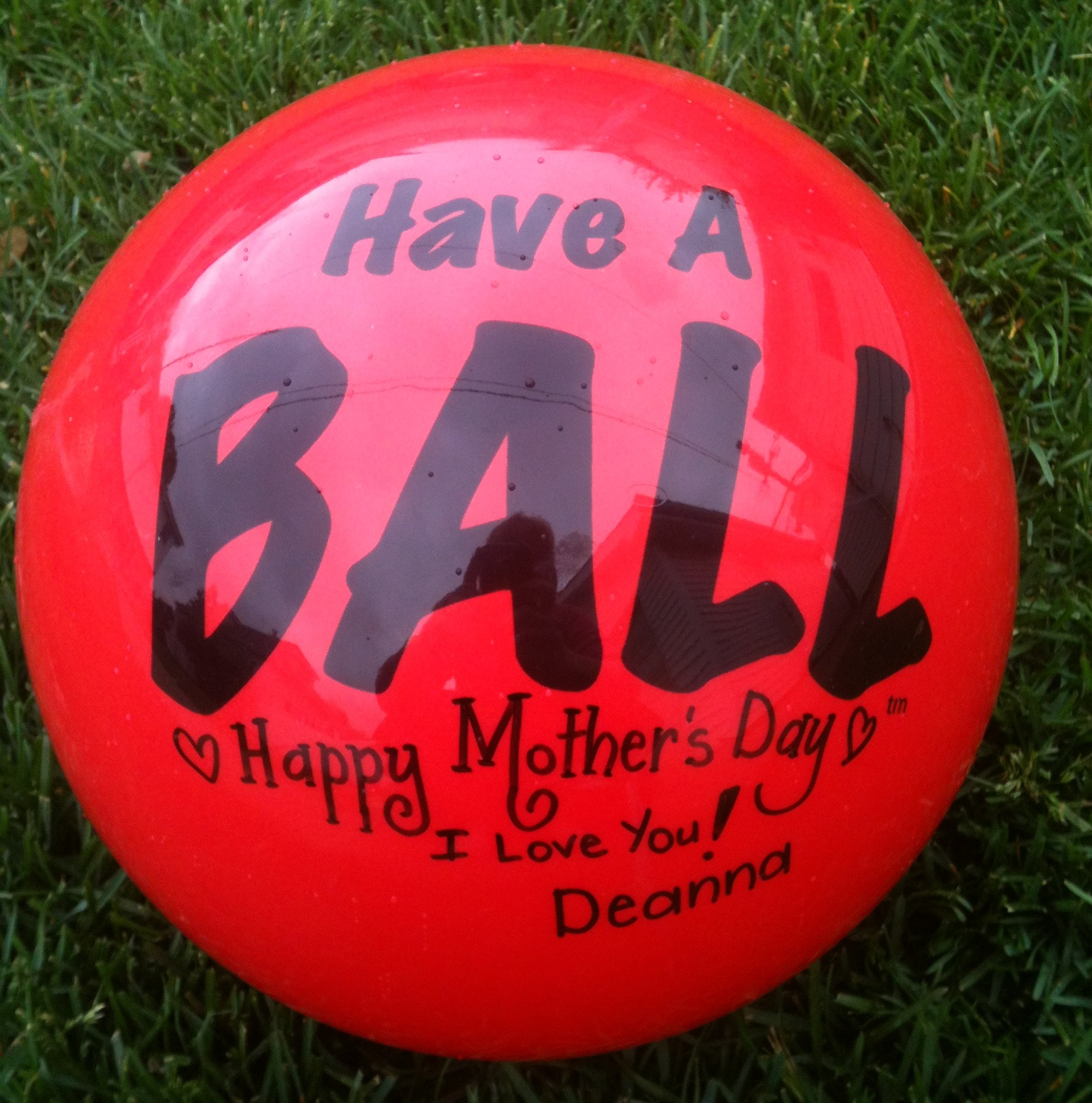 Have A BALL – RED SENDaBALL