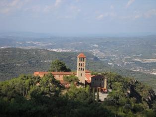 Ruta ST70 Sant Benet (Montserrat)