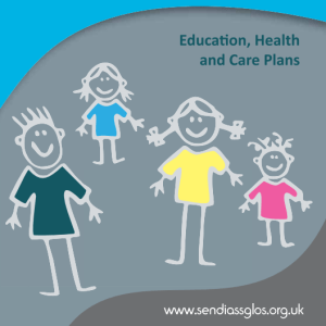 Education, Health and Care Plans - Booket