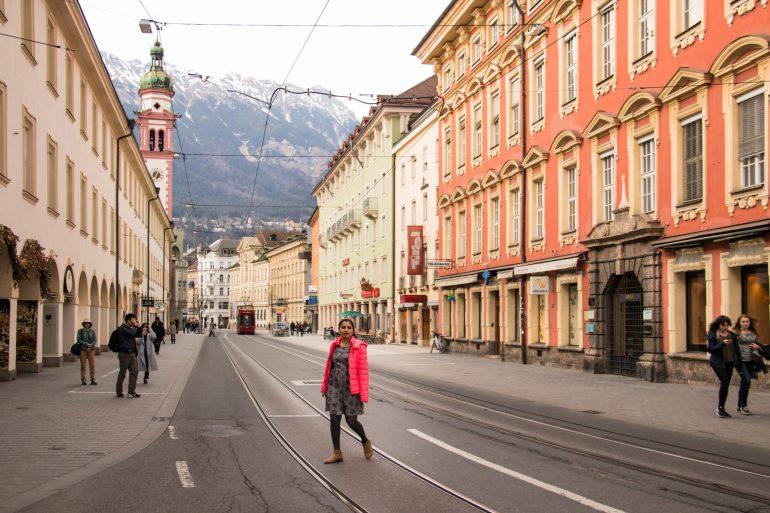 Innsbruck street view 1