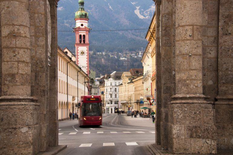 Innsbruck street view 4