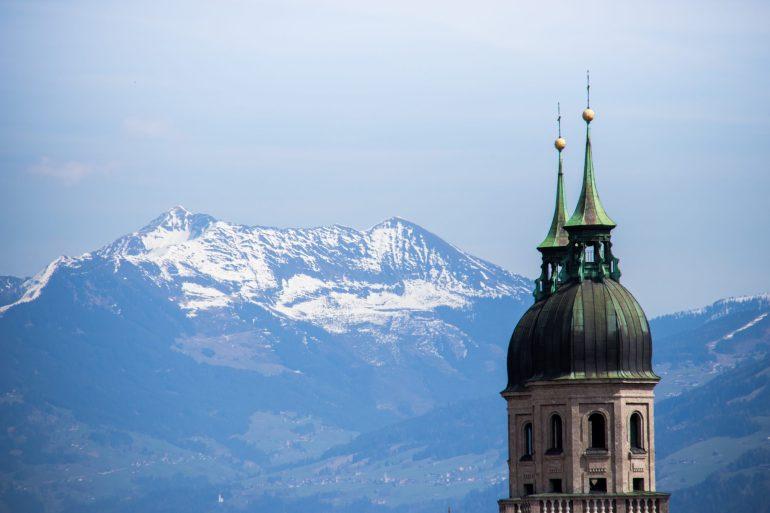 Top view of Innsbruck 1