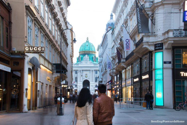 Vienna winter palace Hofburg 2