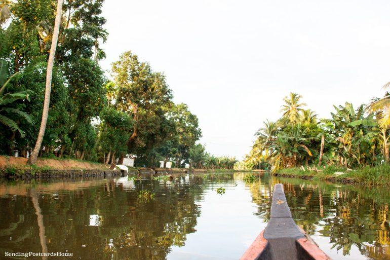 Kerala houseboat Alleppey, Kerala, India - Sending Postcards Home 12