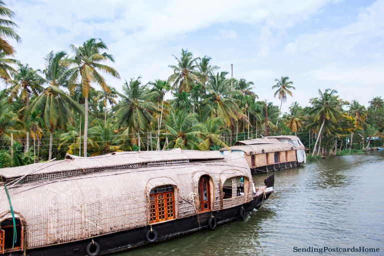 Kerala houseboat Alleppey, Kerala, India - Sending Postcards Home 8