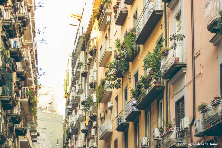 Postcard from Naples & the best pizza places - Napoli Street View , Italy1