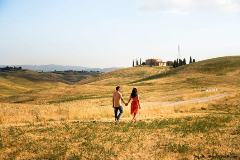 Tuscany Asciano Italy