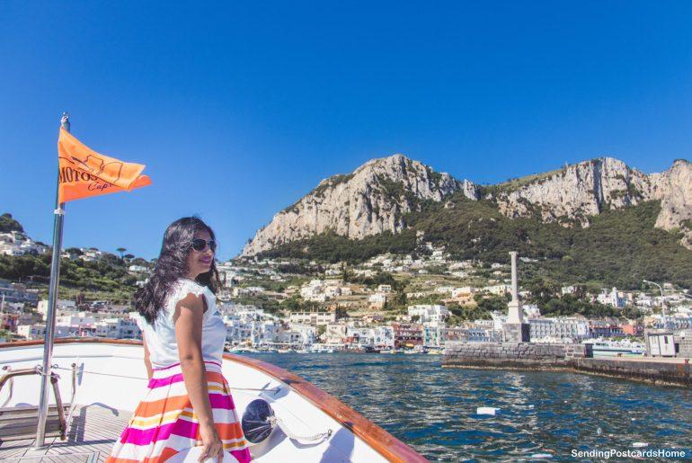 Capri, Italy - Boat ride around the island - View 8