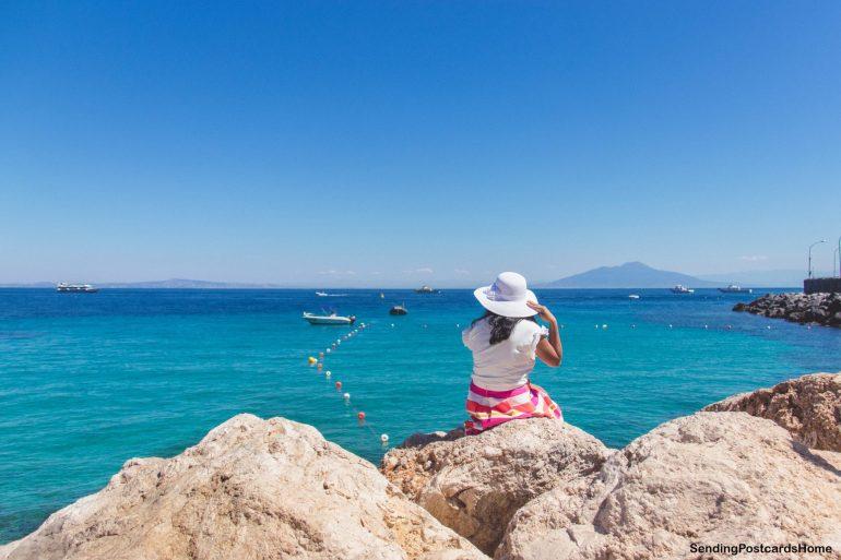Capri, Italy - Island View 2