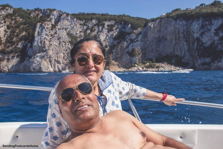 Capri, Italy - Rent a boat 2