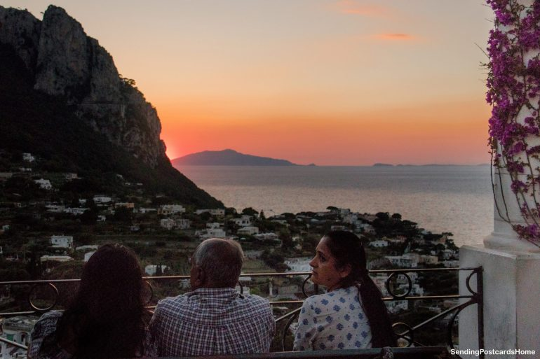 Capri, Italy - Sunset View 10