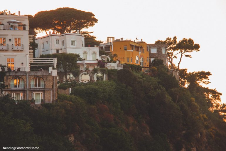 Capri, Italy - Sunset View 6