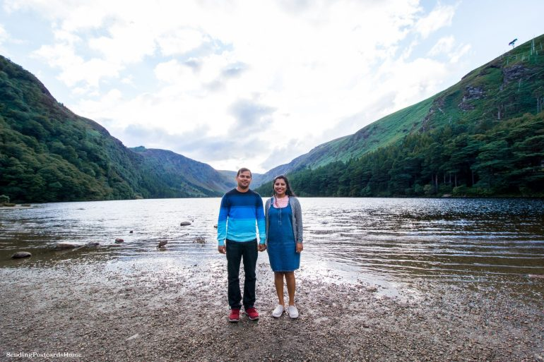 Road trip from Dublin to Wicklow Mountains - Wicklow, Dublin, Ireland - Glendalough Upper Lake 2