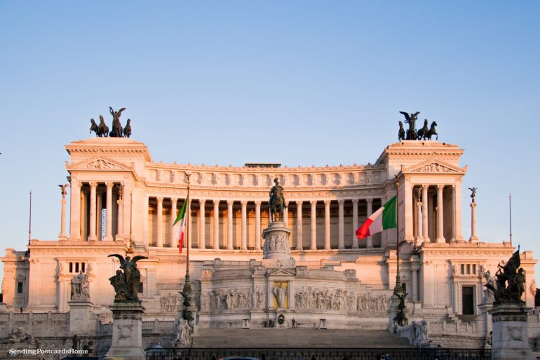 things to do in Rome Altar of the Fatherland, Rome, Italy - Travel Blog 1