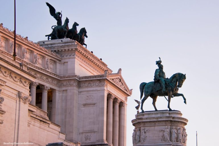 things to do in Rome Altar of the Fatherland, Rome, Italy - Travel Blog 2