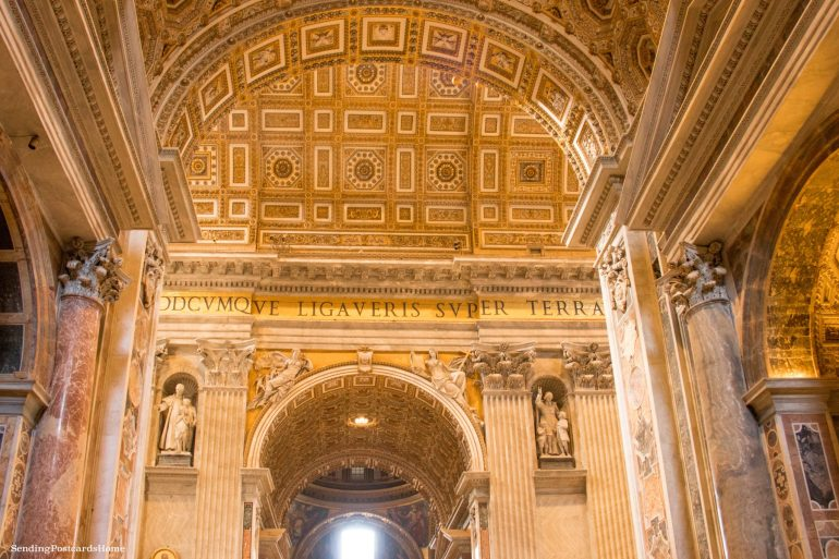 things to do in Rome St. Peter's Basilica, Vatican City, Rome, Italy - Travel Blog 4