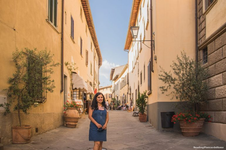 Road trip in Tuscany, Chianti, Italy - Street View - Travel Blog 2
