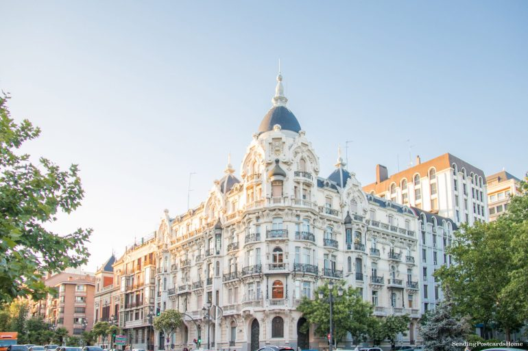 Things to do in Madrid - Buildings of Madrid, Spain - Travel Blog