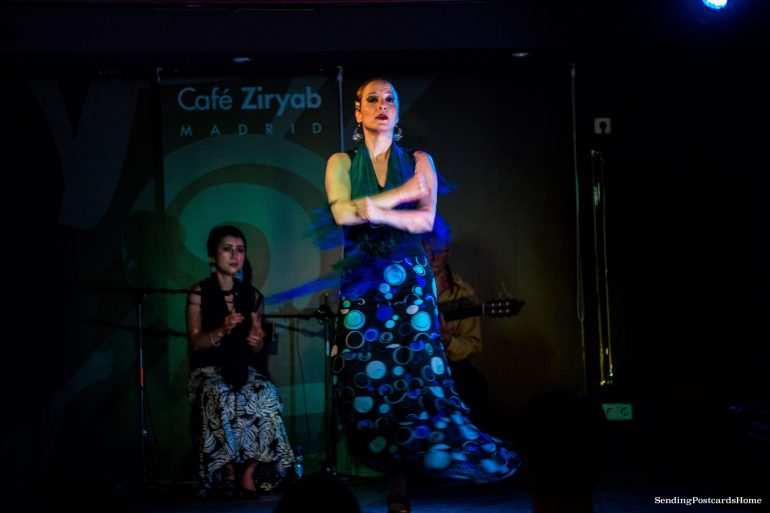 Things to do in Madrid - Flamenco Dance, Cafe Ziryab, Madrid, Spain - Travel Blog 1