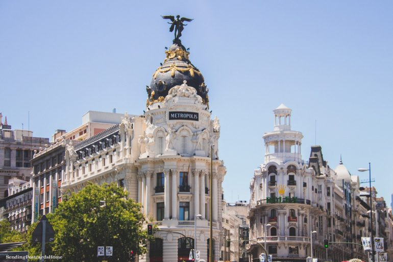 Things to do in Madrid - Metropolis Building, Madrid, Spain - Travel Blog 2