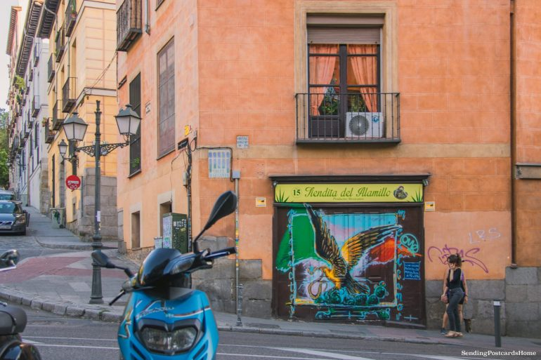 Things to do in Madrid - Streets of Madrid, Spain - Travel Blog 1