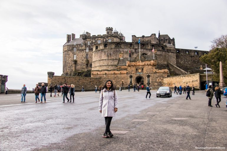 5 amazing things to do in Edinburgh, Edinburgh Castle, The Royal Mile, Scotland, UK - Travel Blog 1