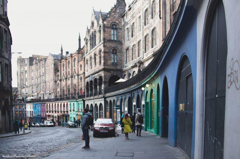 5 amazing things to do in Edinburgh, Victoria Street, Scotland, UK - Travel Blog 2