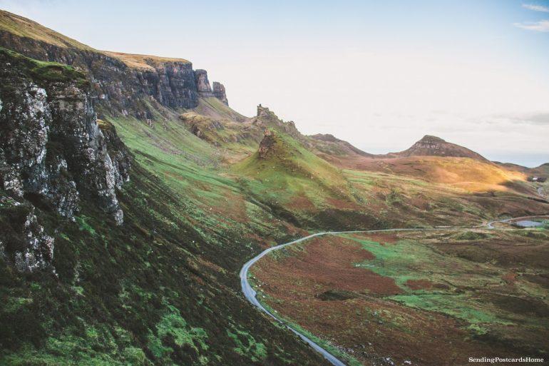 Ultimate road trip in Scotland Highlands - Quiraing, Isle of Skye, Scottish Highlands, Scotland - Travel Blog 1